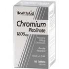 Health Aid Chromium Picolinate 200μg (60tabs)