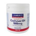 Lamberts Cod Liver oil 1000mg (180 caps)