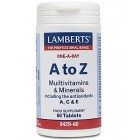 Lamberts A-Z multivitamins and minerals(60 tabs)