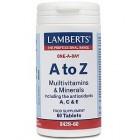 Lamberts A-Z multivitamins and minerals(60 tabs)